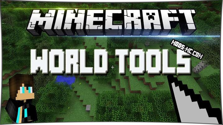World Tools - редактор мира 1.8, 1.7.10