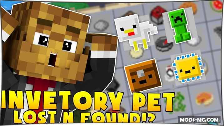 Inventory Pets 1.12.2, 1.11.2, 1.10.2, 1.8, 1.7.10