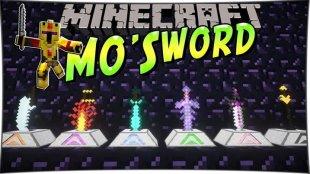 Mo Swords - мод на мечи 1.12.2, 1.10.2, 1.8, 1.7.10