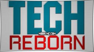 Tech Reborn - механизмы 1.12.2, 1.11.2, 1.10.2, 1.8, 1.7.10