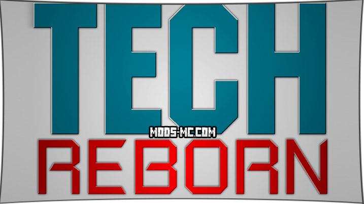 Tech Reborn - механизмы 1.14.4, 1.12.2, 1.11.2, 1.10.2, 1.7.10