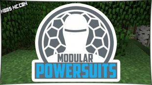 Modular Powersuits 1.12.2, 1.10.2, 1.8, 1.7.10