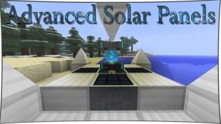 Advanced Solar Panels - солнечные панели 1.12.2, 1.11.2, 1.10.2