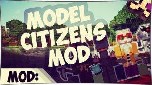 Model Citizens - статуи из мобов 1.7.10