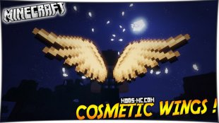 Cosmetic Wings - мод на крылья 1.12.2, 1.11.2, 1.10.2, 1.7.10