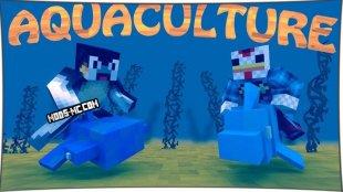 Aquaculture - мод на рыбу и удочки 1.14.4, 1.12.2, 1.11.2, 1.8, 1.7.10