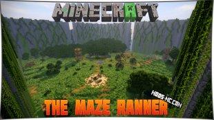 The Maze Ranner - карта Бегущий в лабиринте 1.13, 1.12, 1.11.2, 1.10.2
