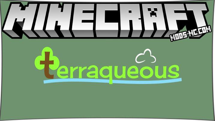 Terraqueous - мод на растения 1.16.2, 1.15.2, 1.12.2, 1.7.10