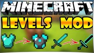 Levels - мод на уровни для оружия 1.11.2, 1.10.2, 1.7.10