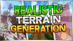 Realistic Terrain Generation 1.10.2, 1.8, 1.7.10