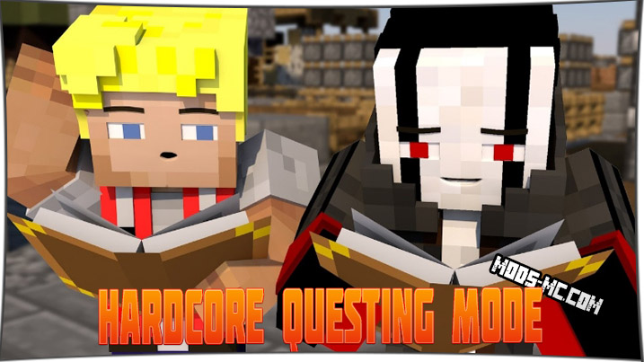 Hardcore Questing Mode 1.12.2, 1.11.2, 1.10.2, 1.7.10