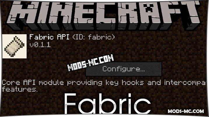 Fabric 1.16.2, 1.15.2, 1.14.0