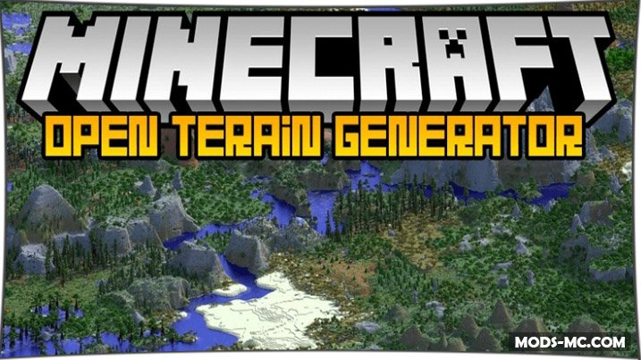 Open Terrain Generator - новая генерация мира 1.12.2, 1.11.2, 1.10.2