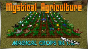 Mystical Agriculture - семена растений 1.14.4, 1.12.2, 1.11.2, 1.10.2